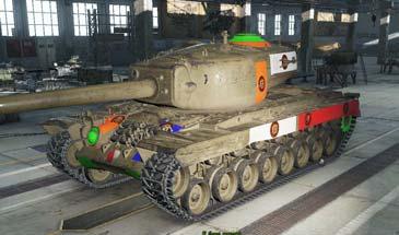 Мод: Уязвимые места танков World of Tanks 0.9.19.02