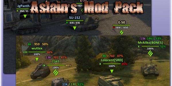 Aslain's XVM ModPack World of Tanks