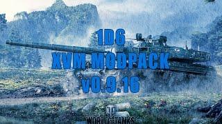 1D6 XVM Modpack for WOT 0.9.19.02